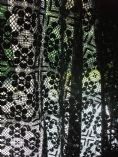 Beautiful Black Genuine British Nottingham Cluny Cotton Lace Fabric03 2m x 1.3m